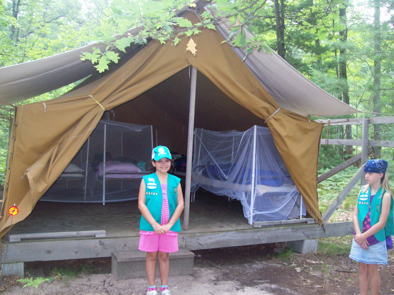 Ally bridged from Brownies to Junior Girl Scouts. She went on her first Junior Girl Scout c&ing trip. They went to C& Oak Hills (click to see their ... & Junior girl scouts | Frugal SOS