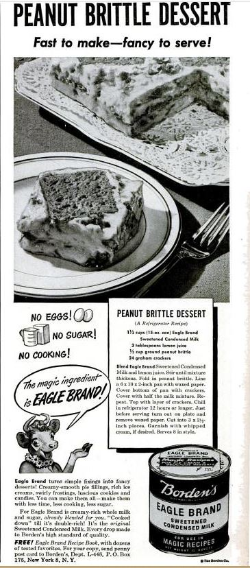 peanut brittle dessert
