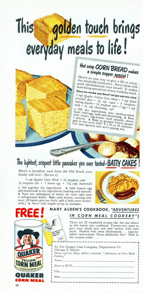 old fashioned corn bread