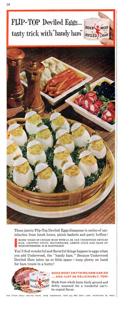 flip top deviled eggs