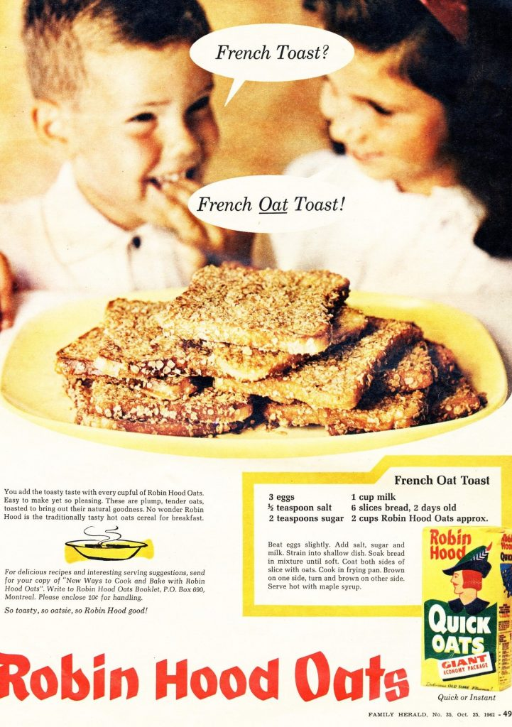 french oat toast recipe