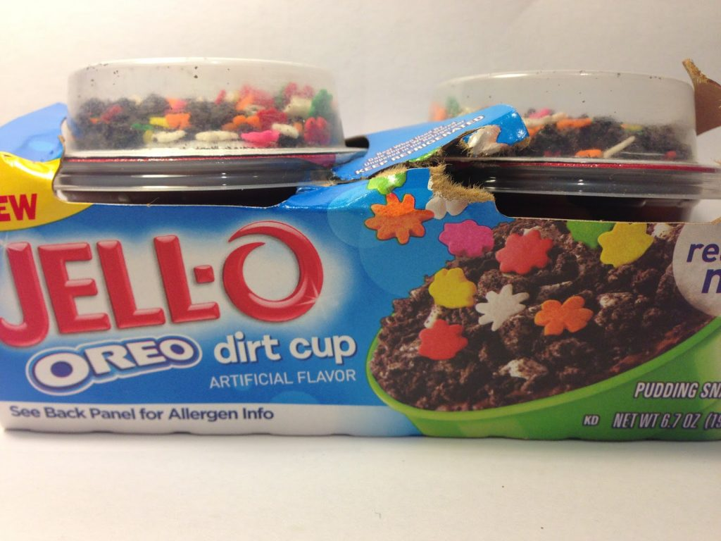 JELL-O Mix-Ins Oreo Dirt Cup Pudding