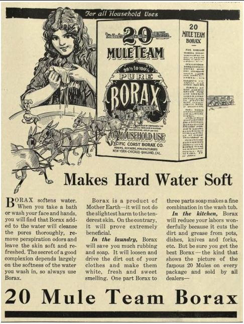 Uses for Borax