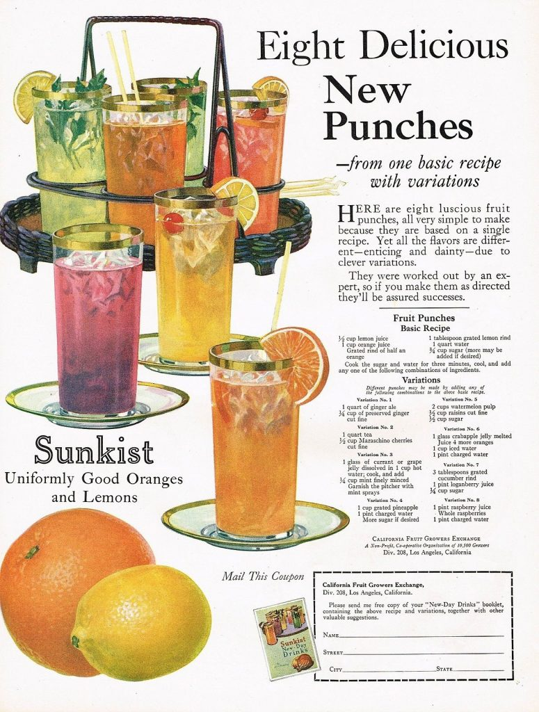 8 Delicious Punches-Vintage Punch Recipes