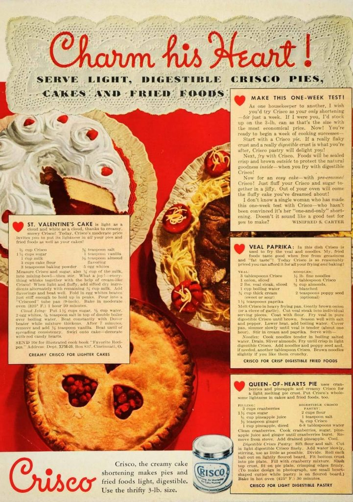 Valentine's Day Pie and Cake