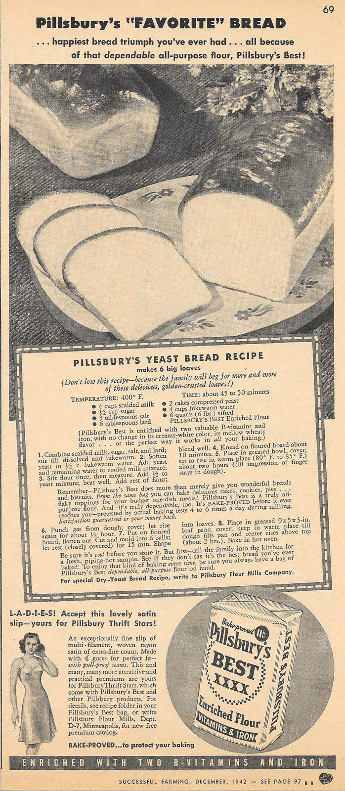 Old fashioned bread recipe