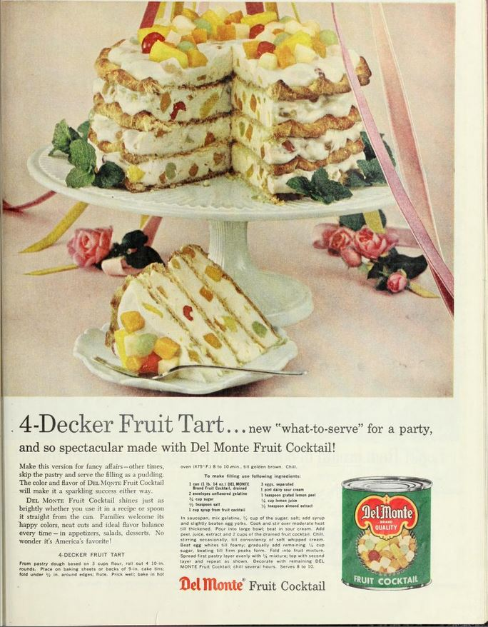 4 Decker Fruit Tart