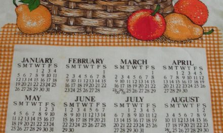 Dish Towel Calendars