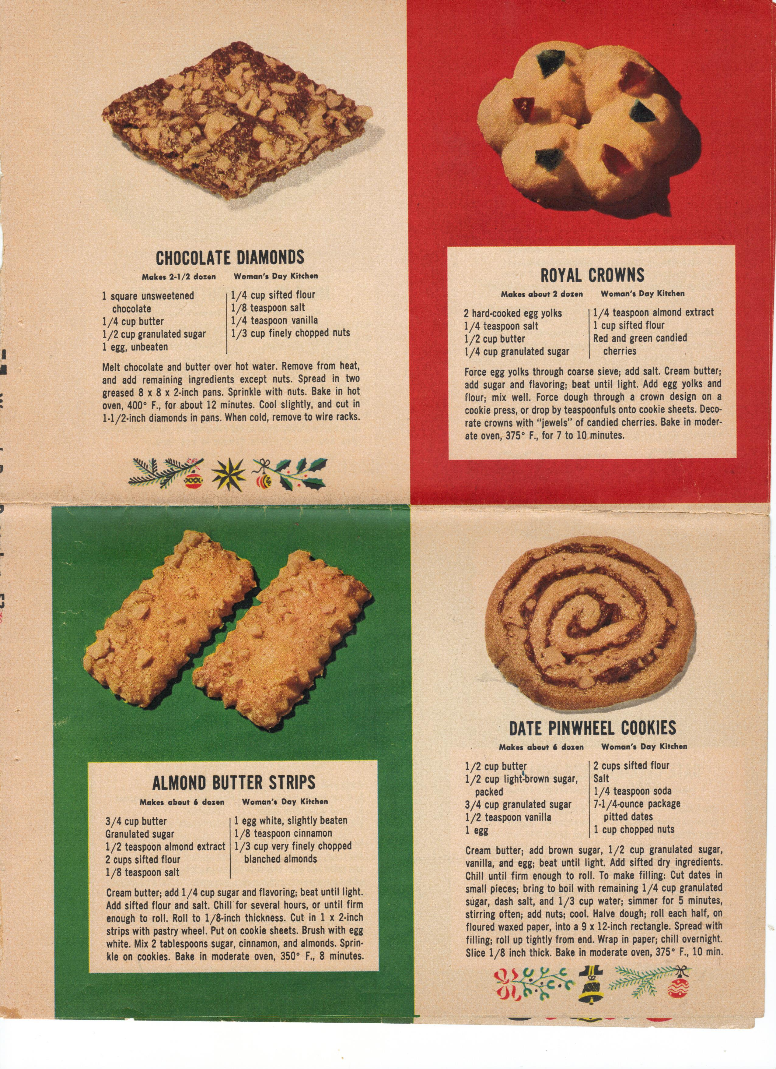 24 Easy Vintage Christmas Cookie Recipes