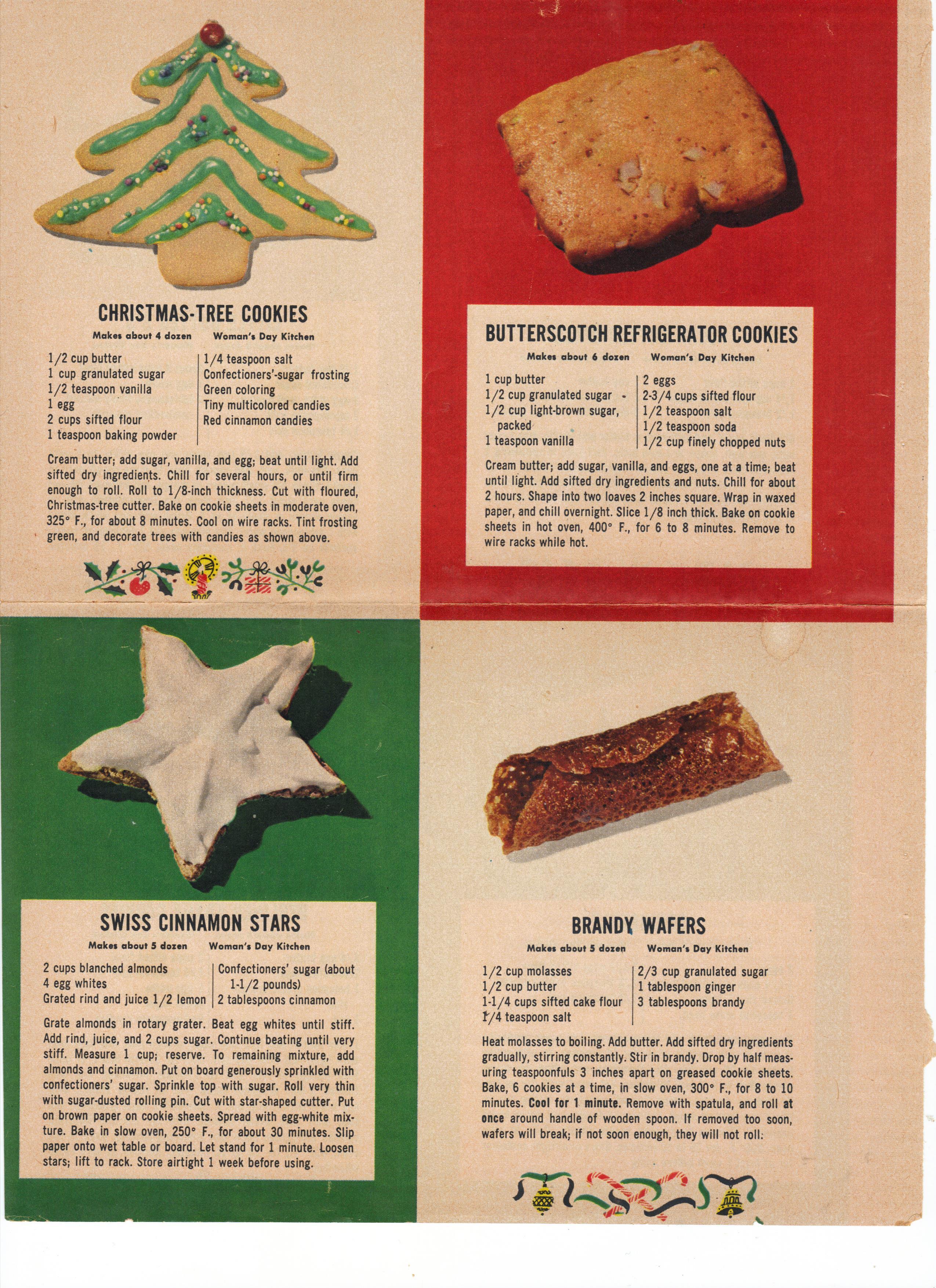24 Easy Vintage Christmas Cookie Recipes Frugal Sos