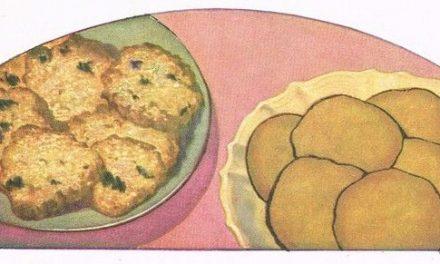8 Vintage Double Quick Cookies