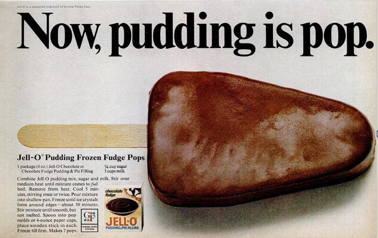 Jell-O Pudding Pops