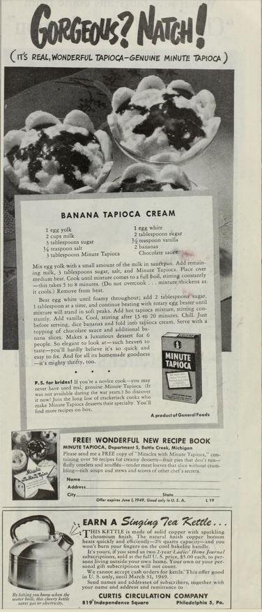 banana tapioca