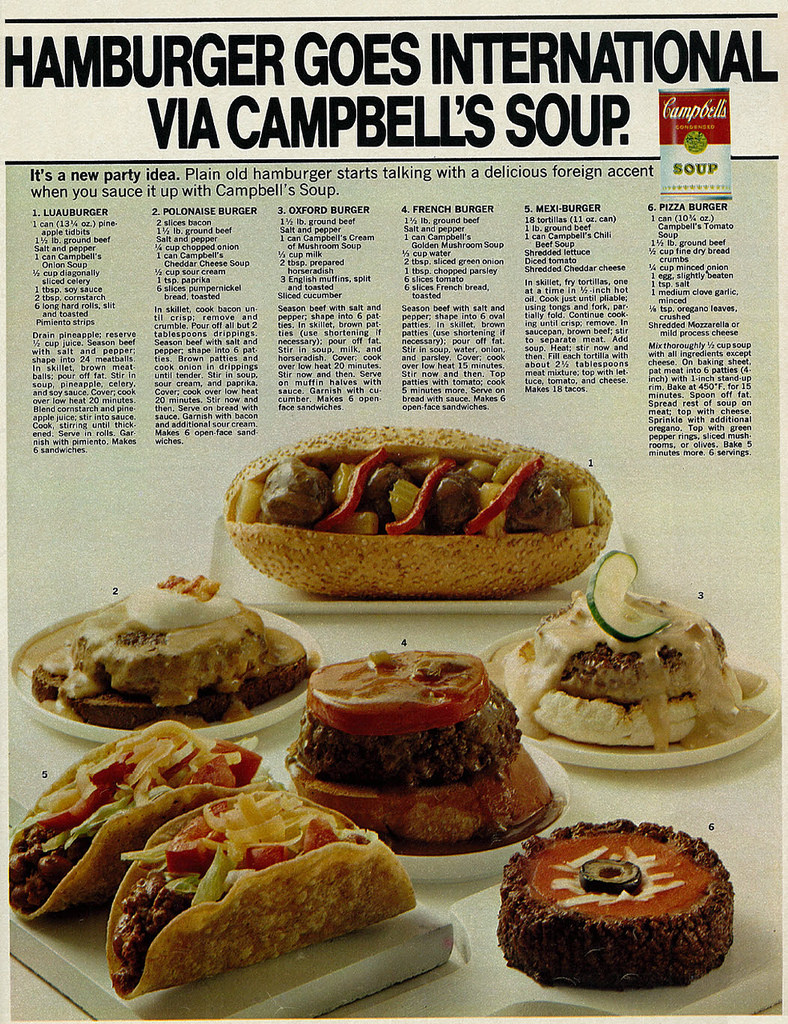 6 Campbell's Soup Hamburger Recipes