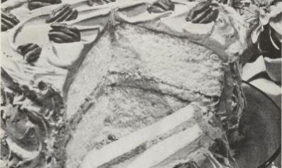 Caramel Pecan Layer Cake