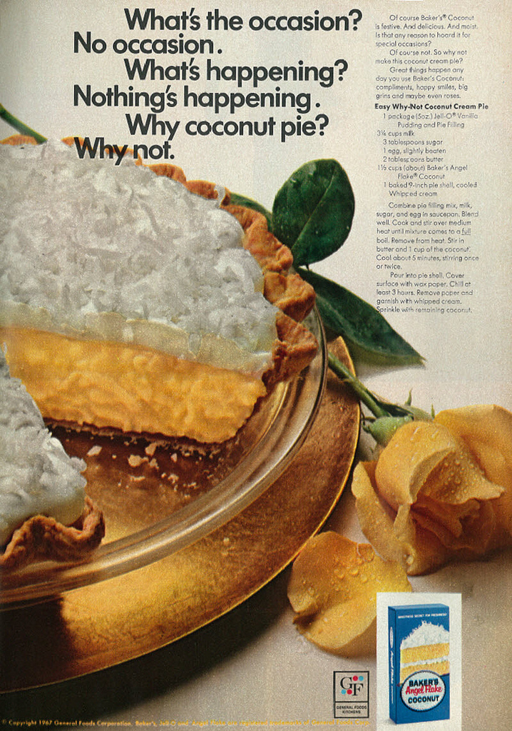 Old fashioned coconut cream pie recipe