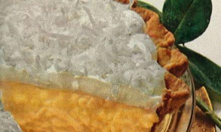 Old fashioned Coconut Cream Pie Recipe