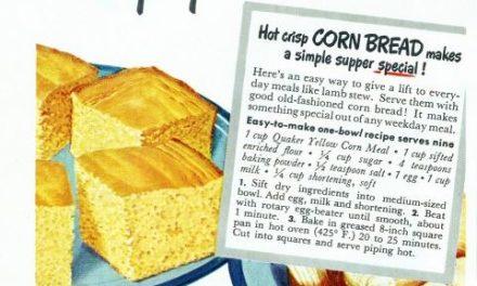 Old fashioned corn bread