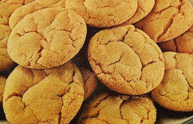 Crackle Top Peanut Butter Cookies
