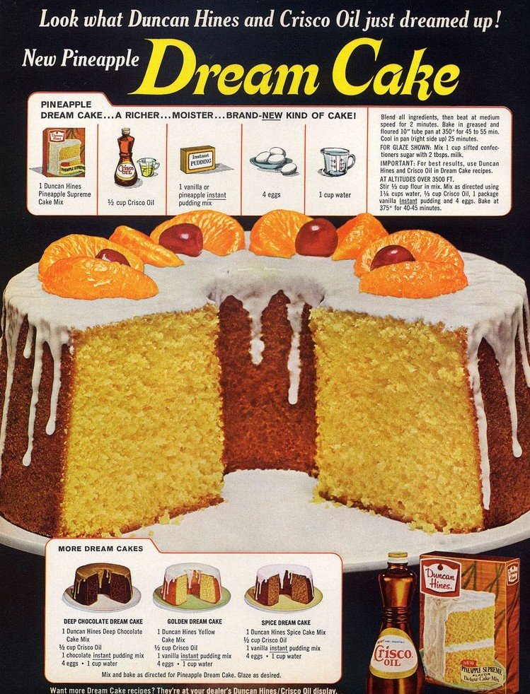 Cake Recipes With Pudding Mix