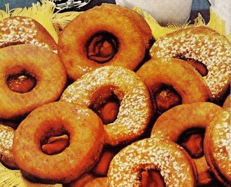 Old fashioned Crisco Doughnuts