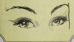 How to Apply False Eyelashes 1964