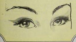 How to Apply False Eyelashes 1964