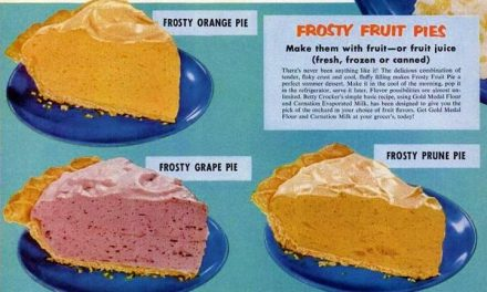 Frosty Fruit Jell-O Pies-3 Recipes with evaporated milk
