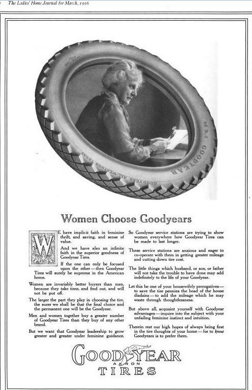 women choose goodyears