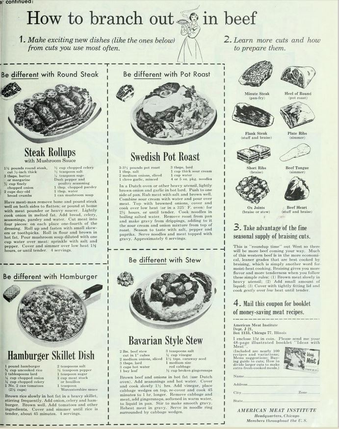 old fashioned beef recipes