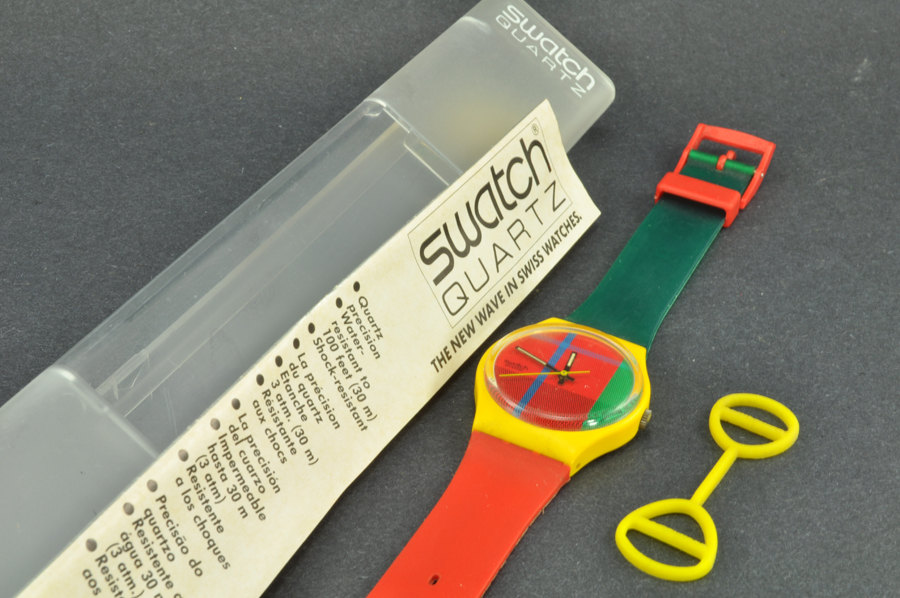 Throwback Thursday: Swatch Watch