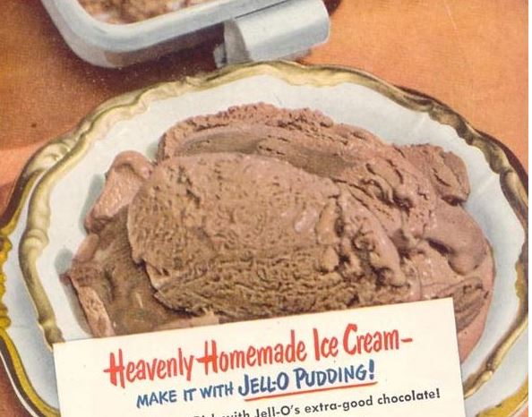 Jell-O Pudding Ice Cream
