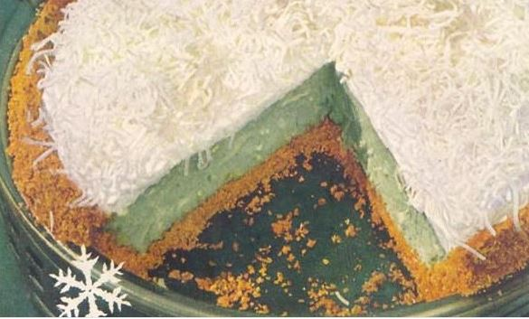 Snowflake Pie: Lime Chiffon Pie Recipe with Recipe Book