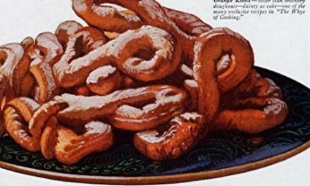 Orange Knots Doughnut Recipe