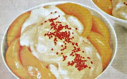 Peach Pudding  Tops Recipe