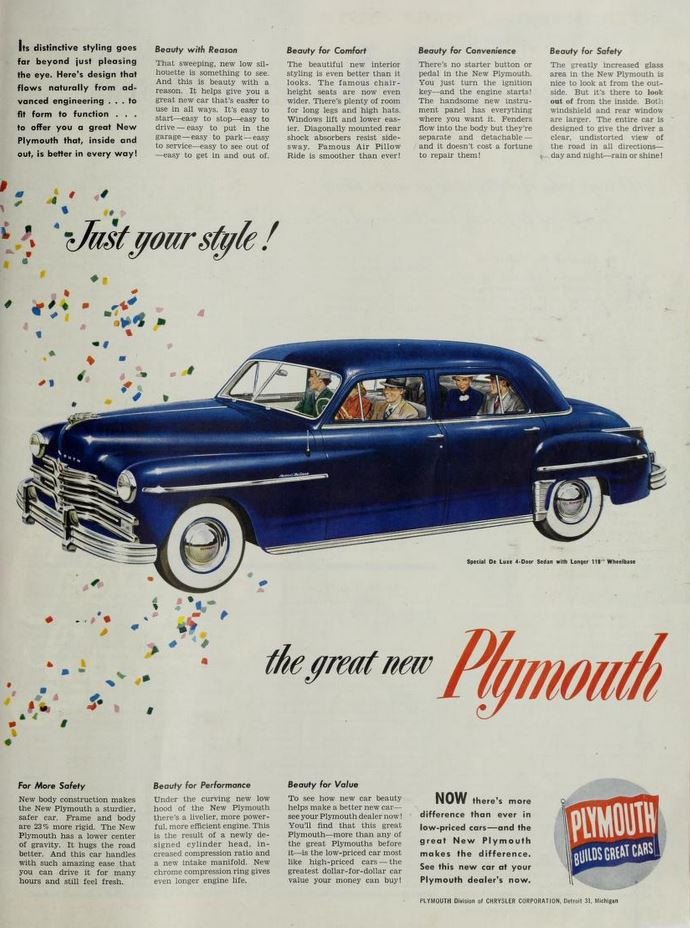 plymouth 1949