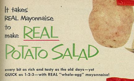 Vintage Potato Salad Recipe