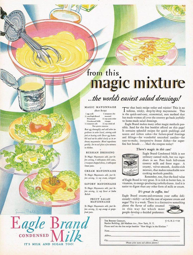 magic mayonnaise: makes 4 recipes
