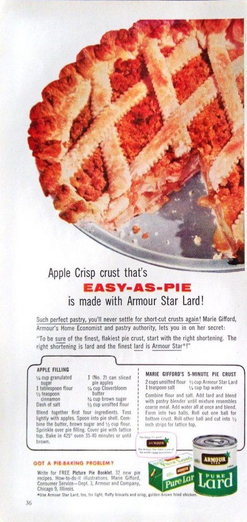 apple crisp that is as easy as pie