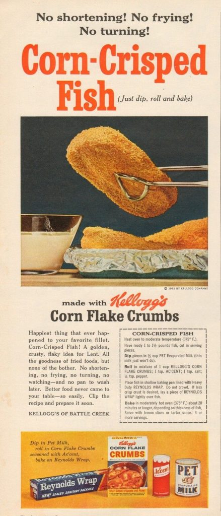 corn flake crusted fish