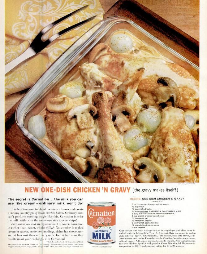 one dish chicken and gravy