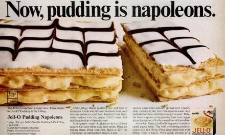 Now, pudding is…