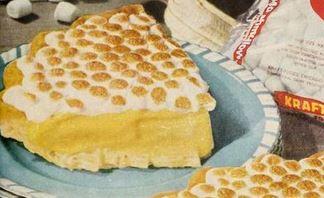 Banana Mallow Pie-Super Easy