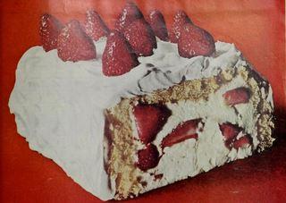 Berries 'N Cream Cake