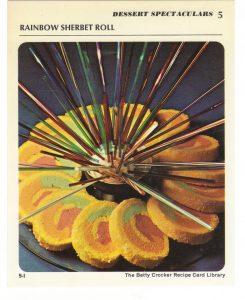 rainbow sherbet roll