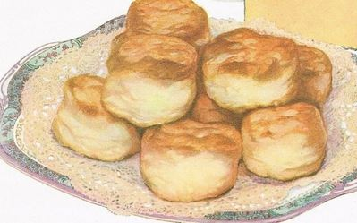 Vintage Kraft Cheese Biscuits Recipe