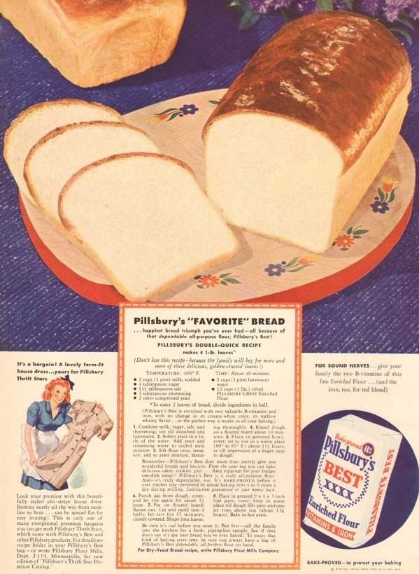 Pillsbury's double quick bread recipe