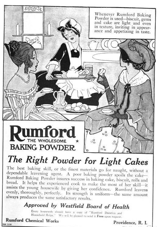 Rumford Cookbook 1915