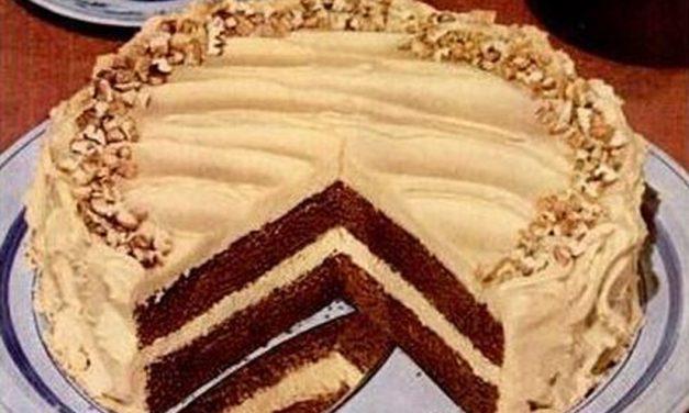 Double Mocha Chocolate Cake