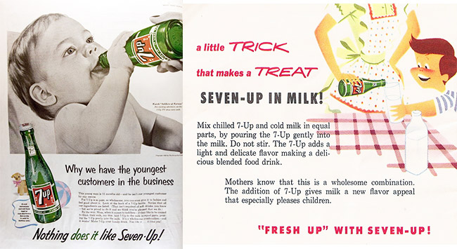 1950s 7-Up ad
